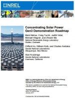 Concentrating Solar Power Gen3 Demonstration Roadmap