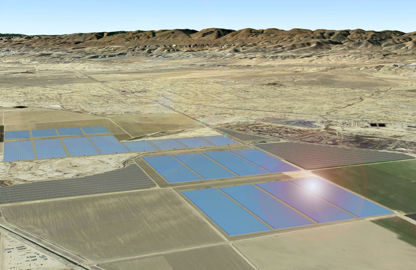 Glasspoint brings gigantic 850 mwth solar eor to california glasspoint will build an 850 mw thermal solar facility at the belridge oil field in bakersfield to replace natural gas which is traditionally used for dailygadgetfo Gallery
