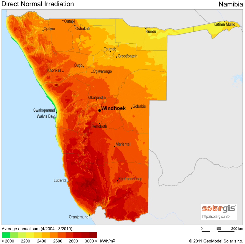 Namibia\'s Outstanding CSP Potential Could \