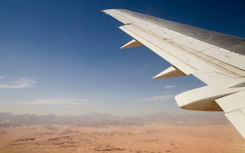 Desert Solar to Fuel Centuries of Air Travel