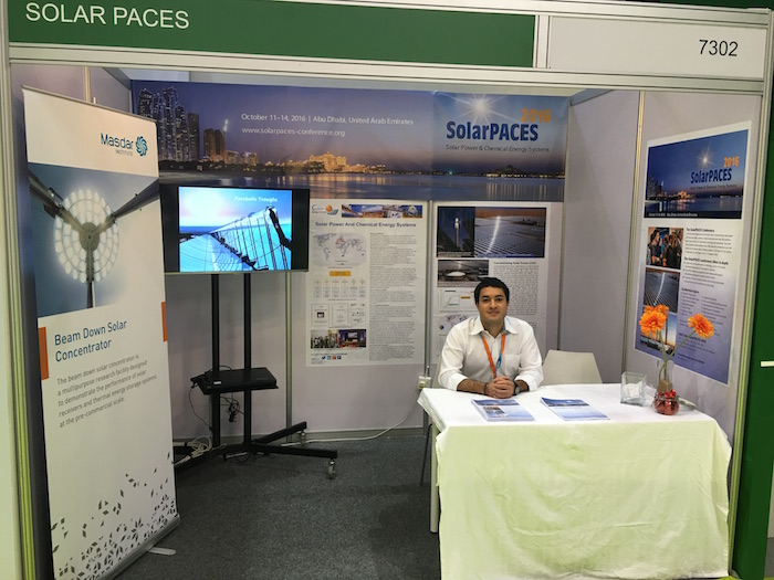 SolarPACES is present at the World Future Energy Summit 2016 in Abu Dhabi