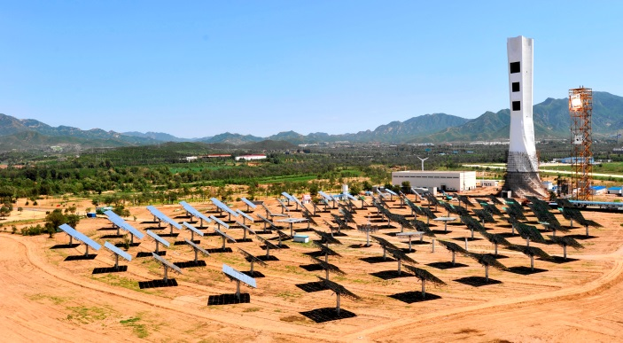 Solar thermal power technology R&D and system demonstration in China