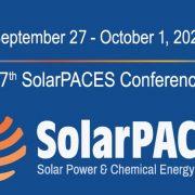 SolarPACES 2021 Registration Now Open