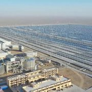World's First Utility-Scale Molten Salt Fresnel CSP Plant Connects to China's Grid