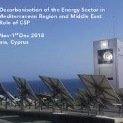 First-Ever Conference on the Role of CSP in Decarbonising the Mediterranean and Middle East: Cyprus and Online
