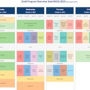 SolarPACES 2019 South Korea Conference Presentation Program Now Online
