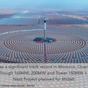 Morocco's Ourazazate Noor III CSP Tower Exceeds Performance Targets
