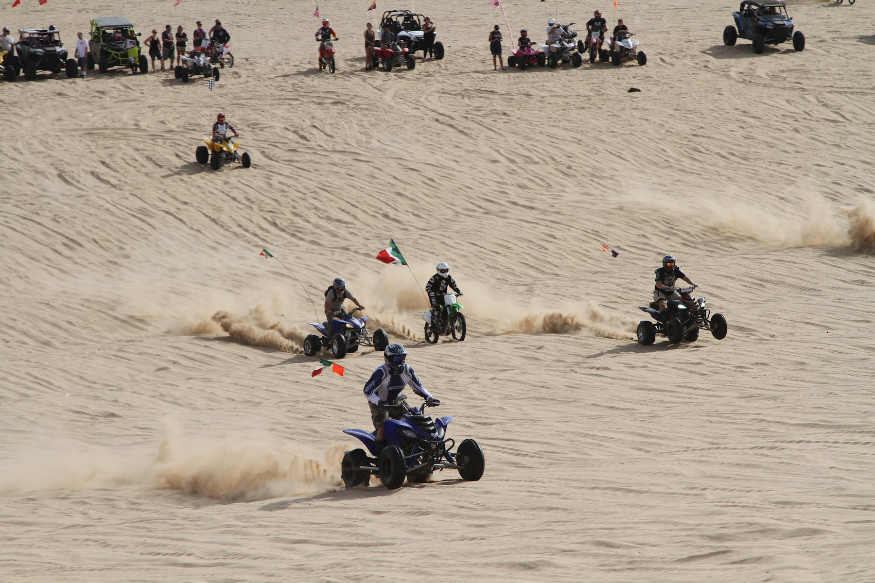 Off-road vehicle recreation areas favored over renewables under DRECP. Imperial Sand Dunes Recreation Area