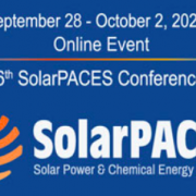 SolarPACES 2020 Online Registration is Open