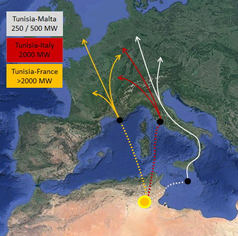 TuNur plan: 4.5 GW of CSP exported to EU