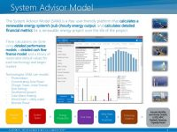 System Advisor Model (SAM) webinars