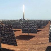 Final Testing for 150 MW Noor III Tower CSP