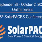 SolarPACES Conference 2020 Early Bird Registration Ends September 6!
